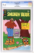 Bronze Age (1970-1979):Cartoon Character, Smokey Bear #6 File Copy (Gold Key, 1971) CGC NM+ 9.6 White pages.Overstreet 2006 NM- 9.2 value = $12. CGC census 6/06: 4 i...