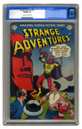 Golden Age (1938-1955):Science Fiction, Strange Adventures #16 (DC, 1952) CGC VF/NM 9.0 Cream to off-whitepages. Ever wonder what all those big stone heads on East...