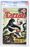 "Bronze Age (1970-1979):Miscellaneous, Tarzan #213 (DC, 1972) CGC NM+ 9.6 Off-white pages. ""Beyond theFarthest Star"" backup story. Joe Kubert cover. Kubert and Da..."