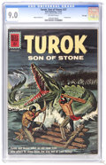 Silver Age (1956-1969):Adventure, Turok #27 File Copy (Dell, 1962) CGC VF/NM 9.0 Off-white pages. Painted cover. Alberto Giolitti art. Overstreet 2006 VF/NM 9...