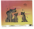 "Animation Art:Production Cel, ""The Lion King's Timon and Pumbaa"" Production Cel Original Art,Group of 4 (Disney, 1995). Here are four hand-painted cels f...(Total: 2 Items)"