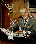 "Animation Art:Limited Edition Cel, ""Meet My Boss, Walter Lantz"" Limited Edition Hand-Painted Cel#193/200 Original Art (Walter Lantz Productions, 1991). This l..."
