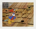 "Animation Art:Limited Edition Cel, ""Rooftop Woody Woodpecker"" Hand Painted Cel #190/200 Original Art(Walter Lantz Productions, 1991). Woody bursts from a peck...(Total: 2 Items)"
