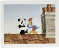 "Animation Art:Limited Edition Cel, ""Woody Woodpecker Scolds Andy Panda"" Hand Painted Cel #99/200Original Art (Walter Lantz Productions). This edition is creat...(Total: 2 Items)"