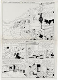 """Original Comic Art:Complete Story, Vicar - Micky Maus Magazin Complete 18-page Story """"A Slushy Christmas Story"""" Original Art (Disney, 1984). Created for German... (Total: 18 Items)"""