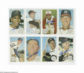 Autographs:Sports Cards, 1964 Topps Giants Signed Lot of 11. Exciting assortment of rare Topps cards average a conservative EX-MT in condition, with...