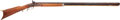 Long Guns:Muzzle loading, Leman Lancaster Pennsylvania Half-Stock Percussion Rifle....