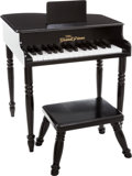 Music Memorabilia:Autographs and Signed Items, Jerry Lee Lewis Signed Miniature Piano....