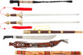 Edged Weapons:Other Edged Weapons, Lot of Four Decorative Tourist Trade Items.... (Total: 4 Items)