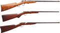 Long Guns:Bolt Action, Lot of Three Bolt Action Youth Rifles.... (Total: 3 Items)