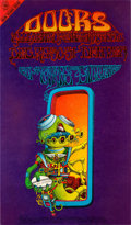 "Music Memorabilia:Posters, Doors ""Pay Attention"" Denver Concert Poster FD-D18 (Family Dog,1967)...."