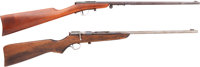 Lot of Two Single Shot Youth Rifles