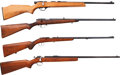 Long Guns:Bolt Action, Lot of Four Bolt Action Rifles.... (Total: 4 Items)
