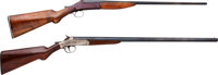 Lot of Two Single Shot Shotguns