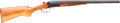 Shotgun:Double Barrel, Russian Baikal Model ИЖ-43 Double Barrel Shotgun....