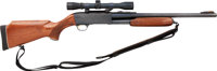 Ithaca Deerslayer Model 87 Featherlight Slide Action Shotgun with Telescopic Sight