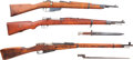 Long Guns:Bolt Action, Lot of Three Military Bolt Action Rifles.... (Total: 3 Items)