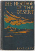Books:Fiction, Zane Grey. The Heritage of the Desert. Harper & BrothersPublishers, 1910. First edition. Frontispiece. Publishe...