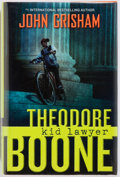 Books:Children's Books, John Grisham. SIGNED. Theodore Boone Kid Lawyer. DuttonChildren's Books, 2010. First edition. Signed by the aut...