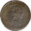 Large Cents, 1793 Chain 1C Periods -- Environment Damage -- PCGS Genuine. XFDetails. S-4, B-5, R.3. ...