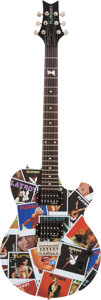 Music Memorabilia:Autographs and Signed Items, Playboy 2007 Limited Guitar signed by Hugh Hefner....