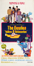 Music Memorabilia:Posters, Beatles Yellow Submarine Three Sheet Theatrical Poster(United Artists/King Features, 1968)....