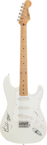 Music Memorabilia:Autographs and Signed Items, Rolling Stones - Mick Jagger Signed Guitar....