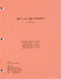 "Movie/TV Memorabilia:Documents, A Farrah Fawcett Script from ""Dr. T and the Women.""..."