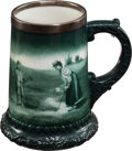 Autographs:Photos, Circa 1900 Lenox Ceramic Golf Mug. ...