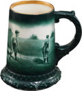 Golf Collectibles:Ceramics/Glass, Circa 1900 Lenox Ceramic Golf Mug. ...
