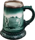 Golf Collectibles:Ceramics/Glass, Early 1900's Lenox Ceramic Golf Mug. ...
