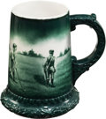 Golf Collectibles:Ceramics/Glass, 1903 Lenox Stein Putting Match Trophy....