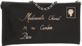 Luxury Accessories:Bags, Chanel Black Lambskin Leather Mademoiselle Envelope Clutch Bag withChain Strap. ...