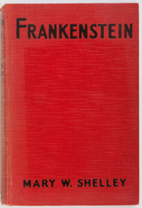 Mary W. Shelley. PHOTOPLAY EDITION. Frankenstein or, the Modern Prometheus. Grosset