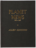 Books:Fiction, Allen Ginsberg. SIGNED/LIMITED. Planet News 1961-1967. CityLights Books, 1968. Limited to 500 hand-numbered cop...