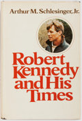 Books:Biography & Memoir, Arthur M. Schlesinger, Jr. INSCRIBED TO GEORGE McGOVERN. Robert Kennedy and His Times. Houghton Mifflin Company,...