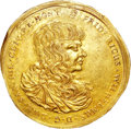 German States:Saxe-Altenburg, German States: Saxe-Altenburg. Duke Friedrich Wilhelm III gold 10Ducats 1672,...