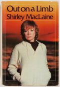 Books:Biography & Memoir, Shirley MacLaine. INSCRIBED TO GEORGE McGOVERN. Out on aLimb. Bantam Books, 1983. First edition. With a long in...