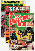 Silver Age (1956-1969):Miscellaneous, Charlton Silver Age Comics Group (Charlton, 1960s) Condition: Average GD/VG.... (Total: 4 Items)