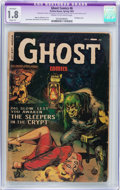 Golden Age (1938-1955):Horror, Ghost #6 (Fiction House, 1953) CGC Apparent GD- 1.8 Slight (A)Cream to off-white pages....
