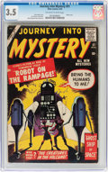 Silver Age (1956-1969):Mystery, Journey Into Mystery #51 (Marvel, 1959) CGC VG- 3.5 Off-white towhite pages....