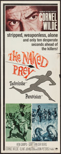 "Movie Posters:Adventure, The Naked Prey (Paramount, 1965). Insert (14"" X 36""). Adventure....."