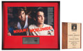 Music Memorabilia:Awards, Wham! ASCAP and Worldwide Sales Awards Presented to Andrew Ridgeley(1985-86). ... (Total: 2 Items)