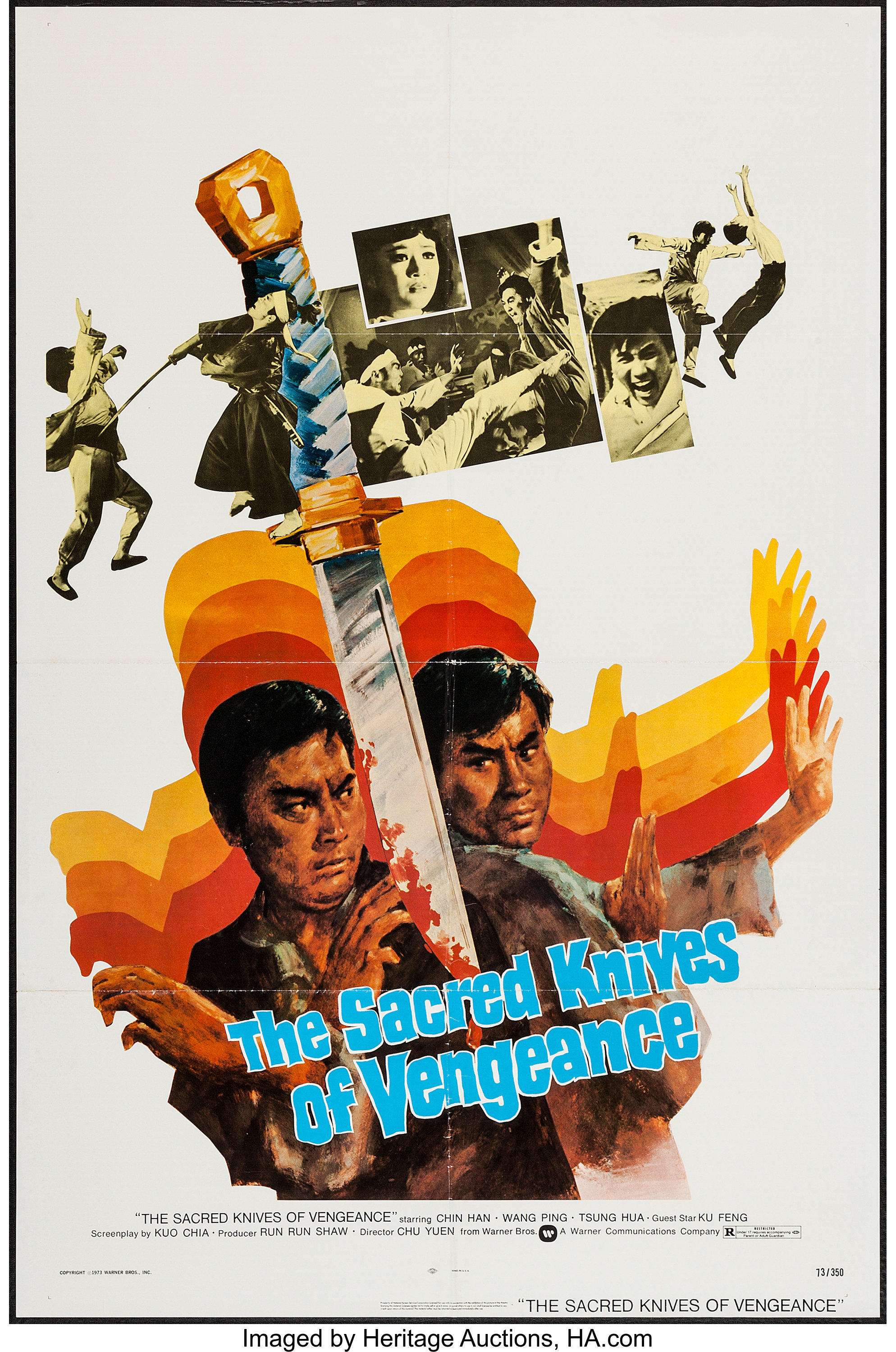 The Sacred Knives of Vengeance & Others Lot (Warner Brothers
