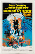 """Movie Posters:James Bond, Diamonds are Forever (United Artists, 1971). One Sheet (27"""" X 41""""). James Bond.. ..."""