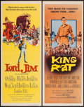 "Movie Posters:War, King Rat & Other Lot (Columbia, 1965). Inserts (2) (14"" X 36"").War.. ... (Total: 2 Items)"