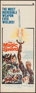 "Movie Posters:Fantasy, The Magic Sword (United Artists, 1961). Insert (14"" X 36""). Fantasy.. ..."