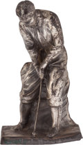 Golf Collectibles:Miscellaneous, 1920's Golf Figural Statue....