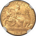 Commemorative Gold, 1915-S $2 1/2 Panama-Pacific Quarter Eagle MS66+ NGC....