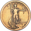 High Relief Double Eagles, 1907 $20 High Relief Fine 12 NGC....